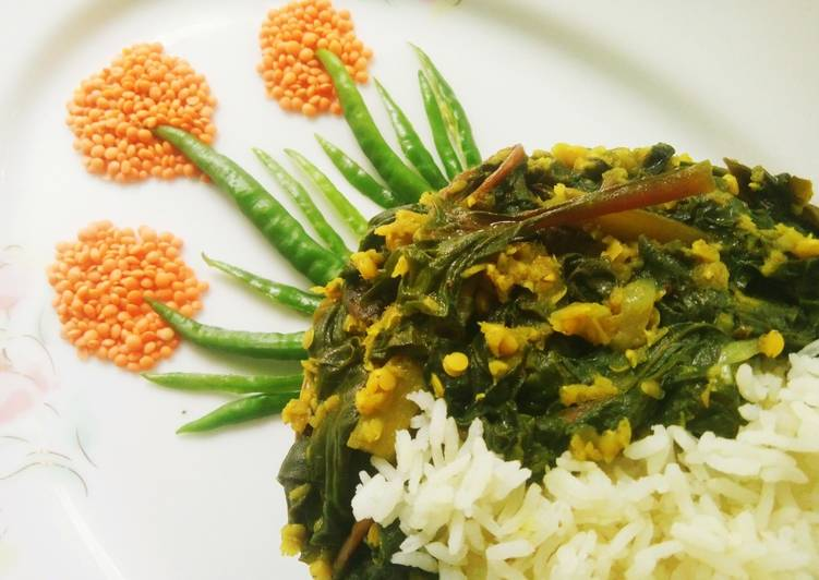 Spinach and Lentil Curry