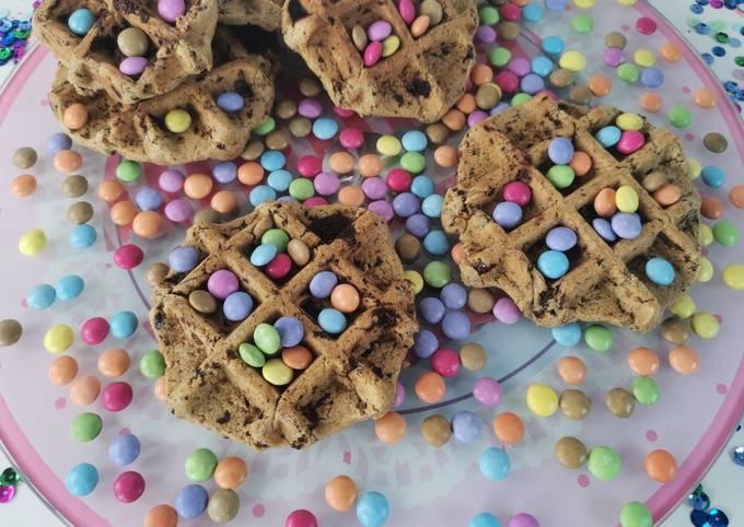 Gaufres cookie pecan