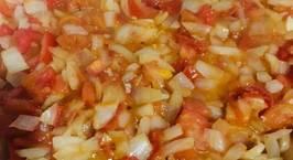 Hình ảnh món Sốt hành tây cà chua xào chay