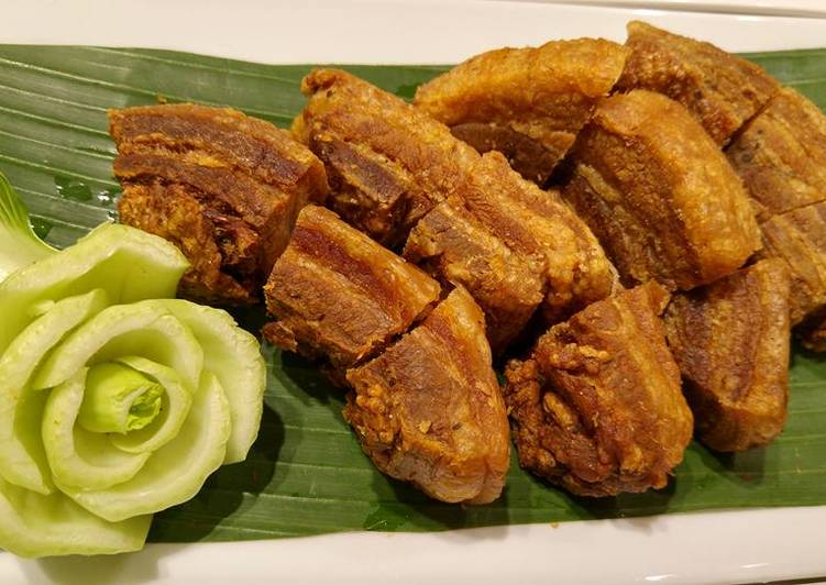 Lechon Kawali Recipe Ni Tita Roka Cookpad