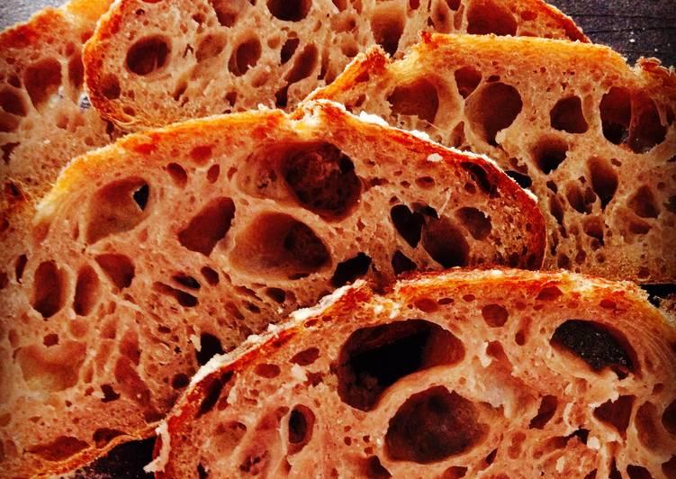 Very Strawberry Sourdough Bread