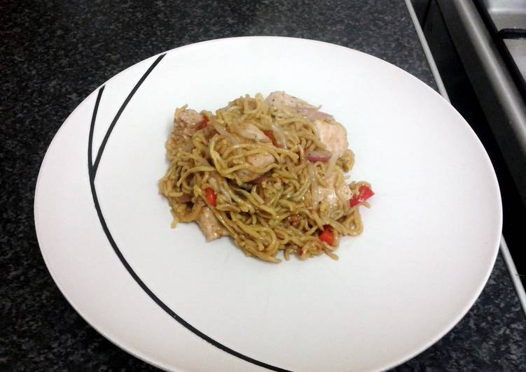 Singapore Chicken Stir Fry