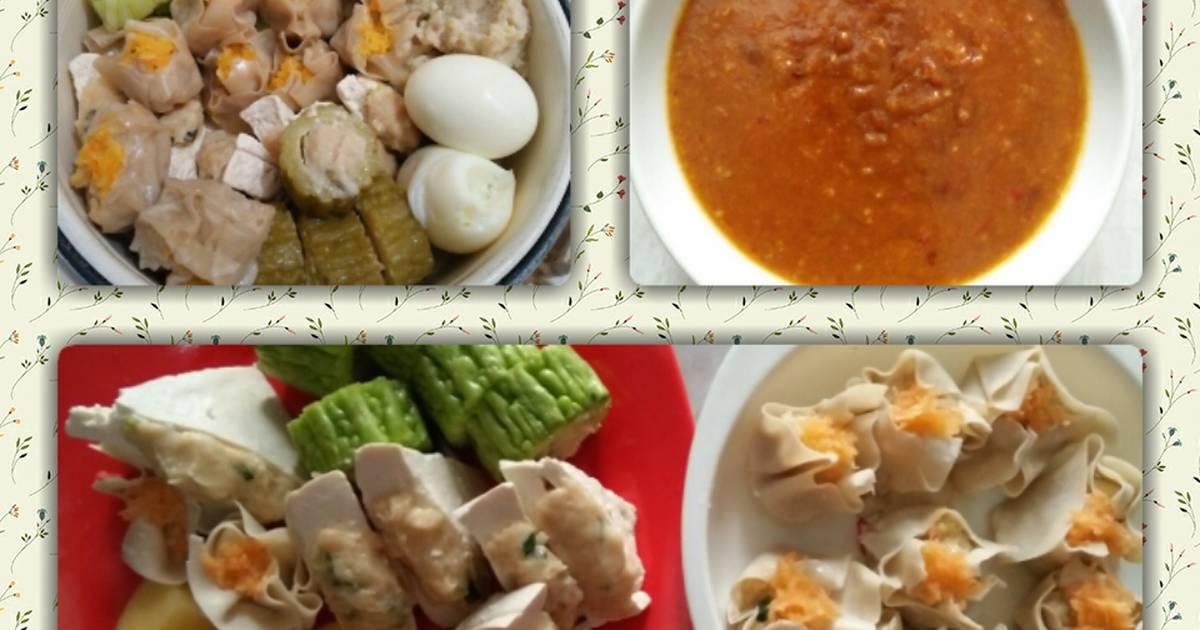 98 Resep Siomay Ayam Bumbu Kacang Enak Dan Sederhana Ala Rumahan Cookpad