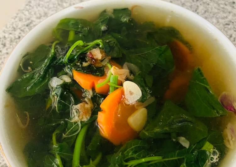 Sup Bening Bayam