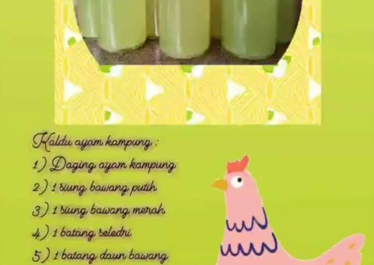 Cara Gampang Menyiapkan Kaldu Ayam Mpasi metode 5-30-7 💃💃💃 Anti Gagal