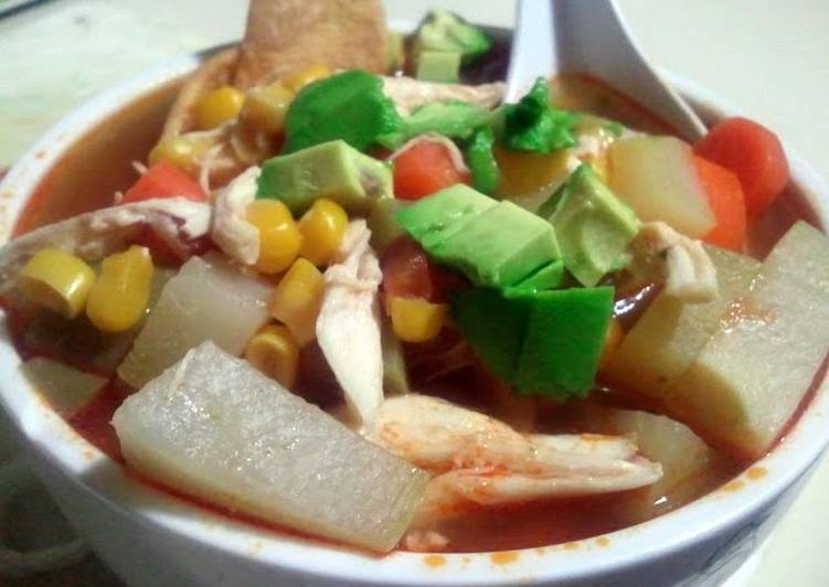 tortilla soup simple and easy