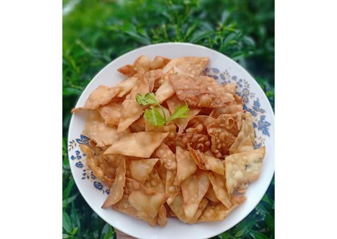 Resep Kue Bawang/Landrang Bawang/Stik Bawang Kentang Dijamin Renyah