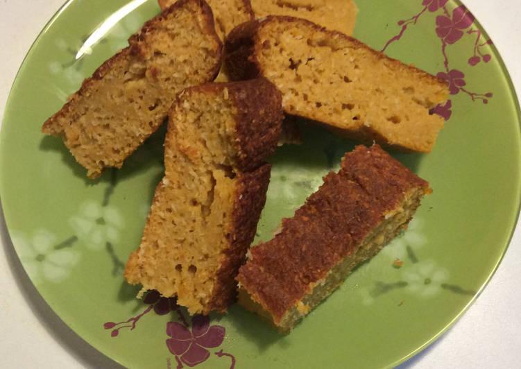 Gâteau butternut et noix de coco