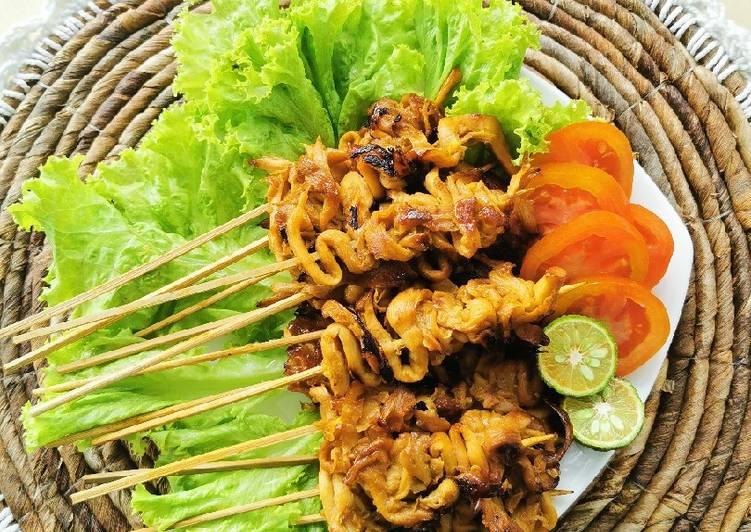 Sate Jamur Tiram Vegan Food