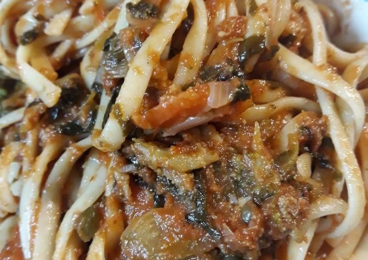 How to Make Quick Garden Spaghetti