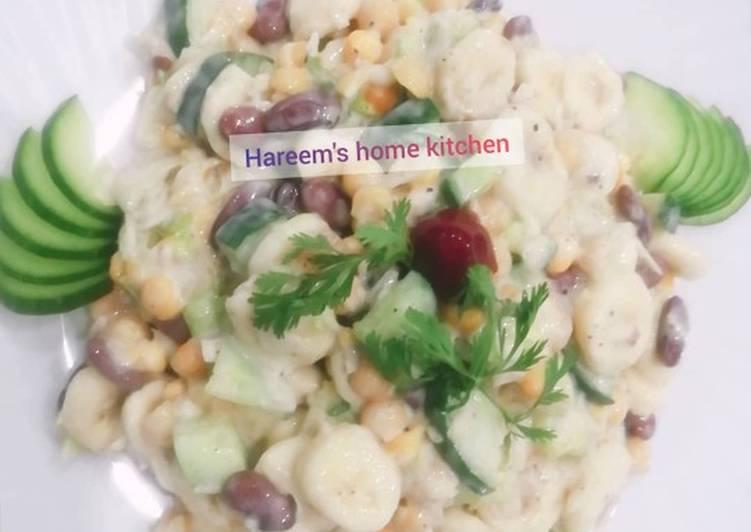 Healthy salad by chef tayyaba