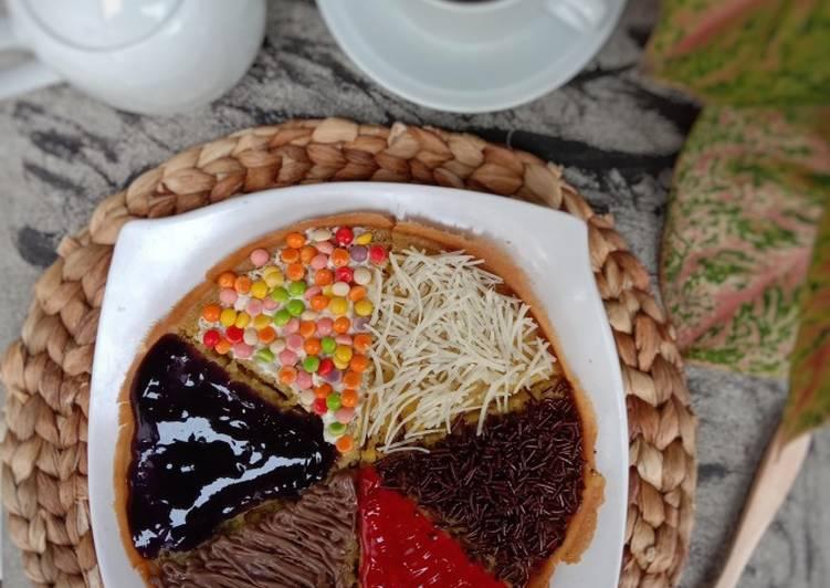 Resep Martabak Pizza teflon rumahan