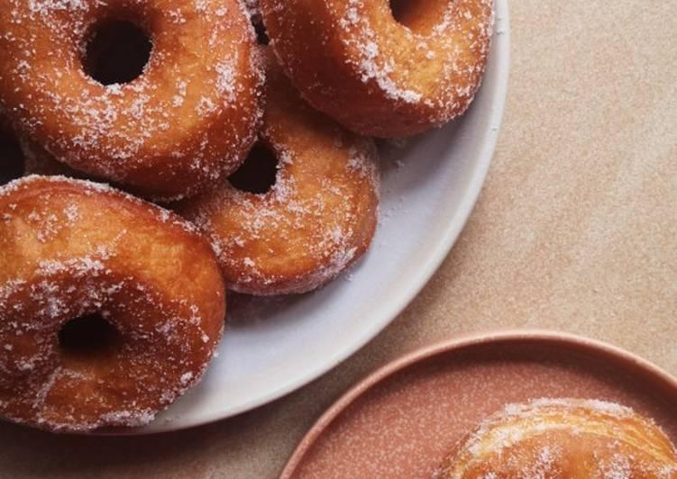 Cara Mudah Masak: Donut Gebu Simple