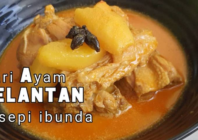 Kari Ayam Kelantan resepi ibunda