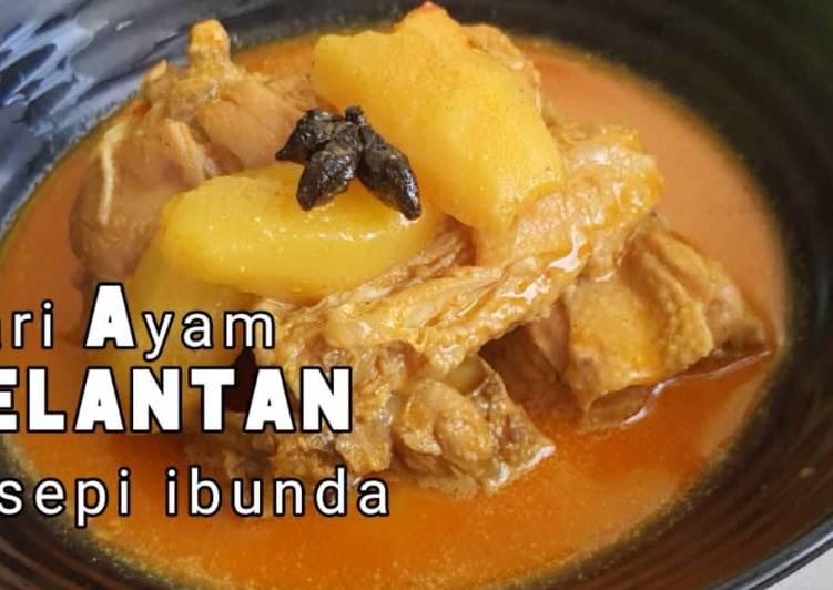 Kari Ayam Kelantan resepi ibunda - velavinkabakery.com