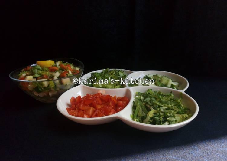 Simple Way to Prepare Perfect Salad