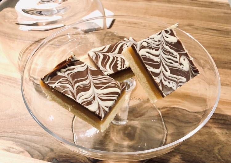 Simple Way to Make Any-night-of-the-week Millionaire shortbread