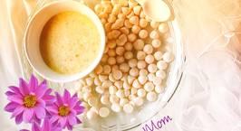 Hình ảnh món Chè kê đậu xanh nước cốt dừa Bánh sữa chua ăn dặm