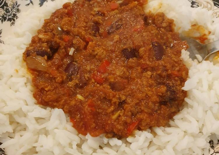 Chilli con Carne with Quorn Mince