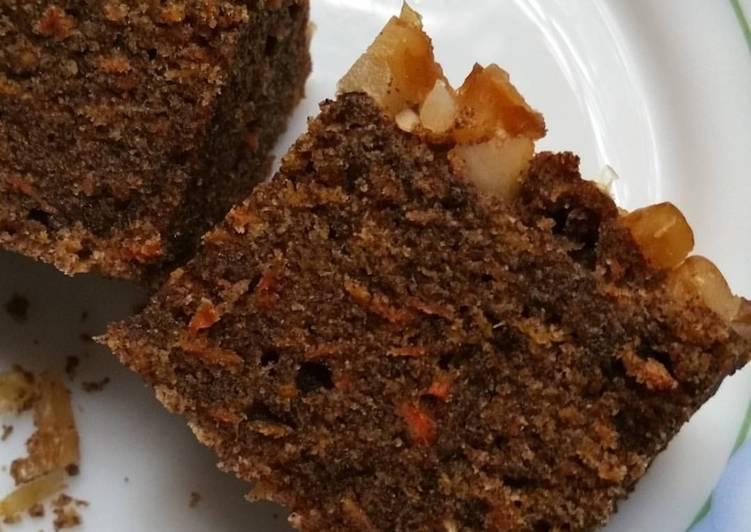 Ragi Carrot Cake