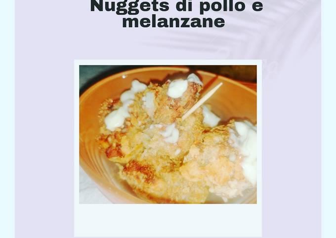 Nuggets di pollo e melanzane