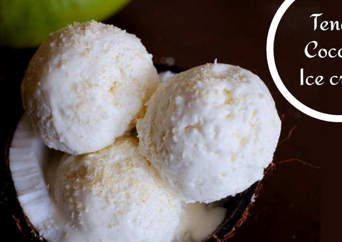 Tender Coconut Ice Cream