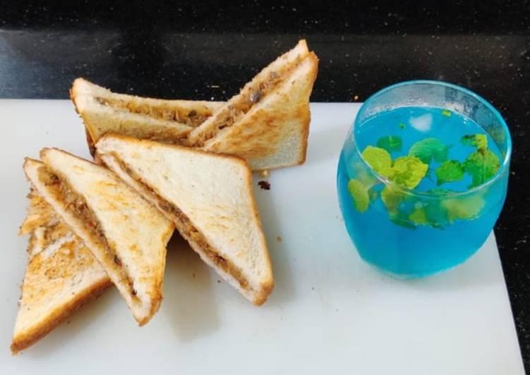 How to Make Speedy Tawa Mushroom Sandwich