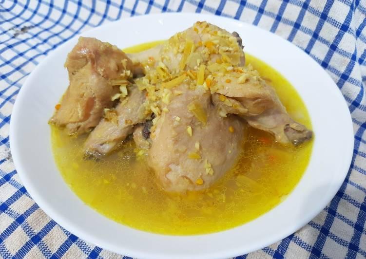 Ayam Betutu Tidak pedas