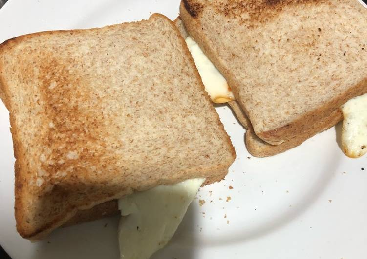 Roti Panggang Teflon Telur Ceplok (Sarapan simpel)