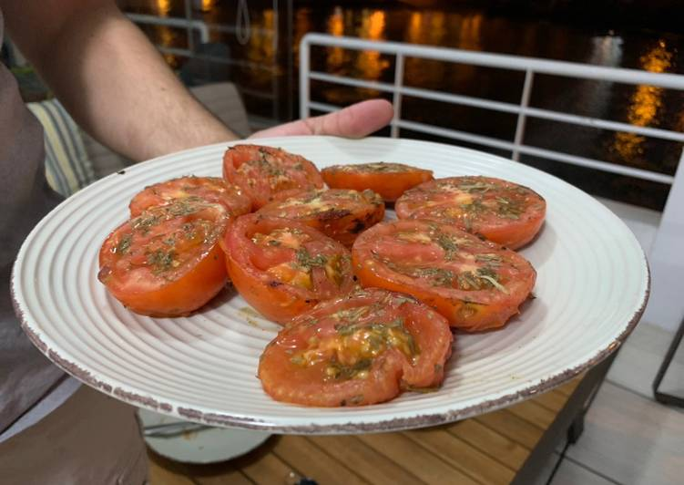 Easiest Way to Prepare Award-winning Grilled Tomatoes