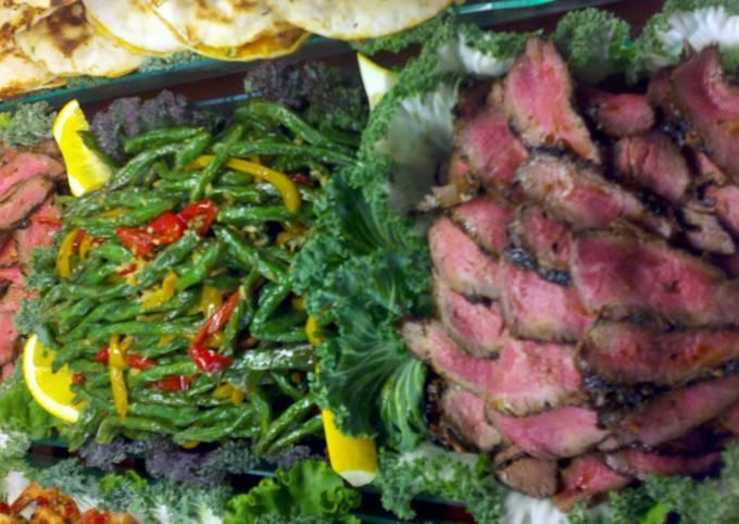 grilled ginger teriyaki steak