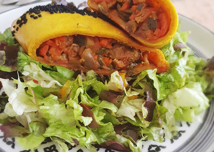 recette Chaussons merguez et légumes au curry délicieux