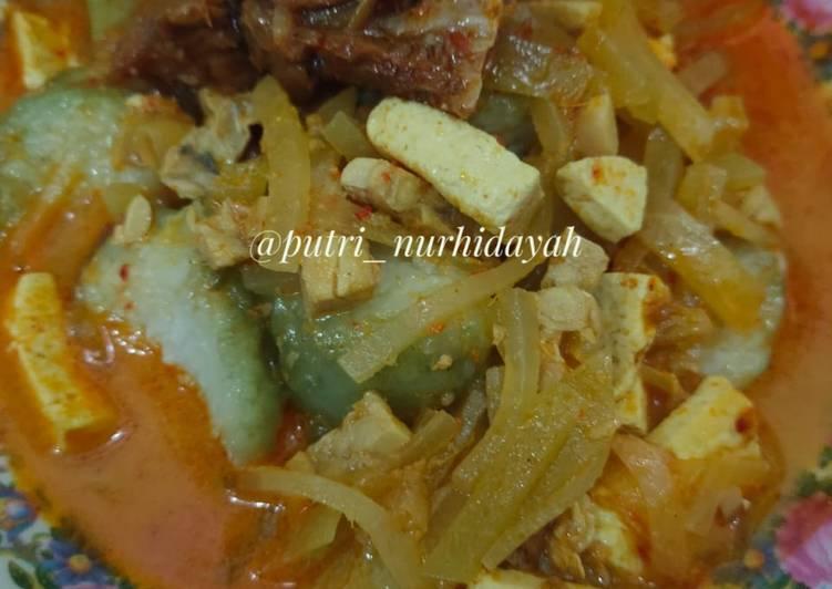Resep Sayur Ketupat Lebaran yang Menggugah Selera