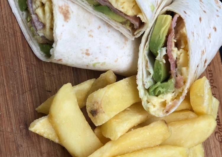 Simple Way to Prepare Homemade Breakfast burrito