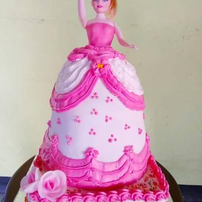 Resep Rainbow Cake Barbie Oleh Momy S Kitchen Cookpad