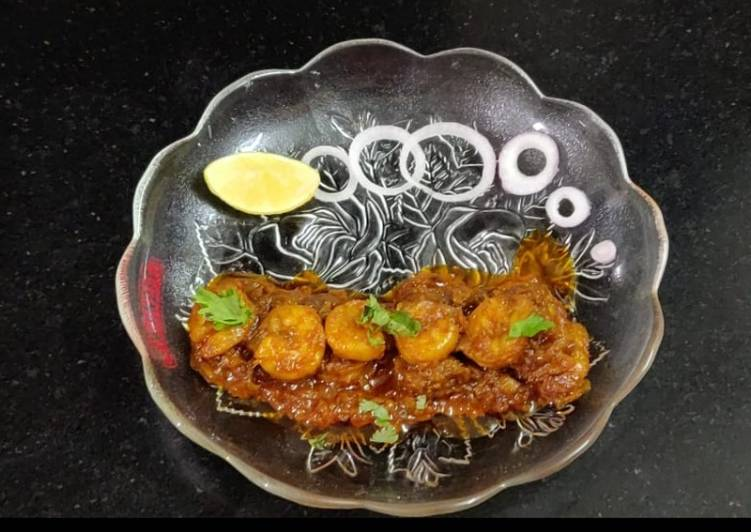 Steps to Prepare Any-night-of-the-week Tawa Fry Prawns