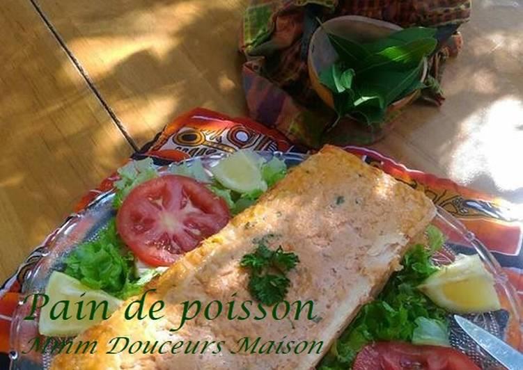 Pain de poisson (truite saumonée)façon Mmm Douceurs Maison ♥