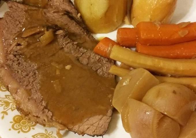 Recipe of Award-winning Perfect Pot Roast & Vegetables