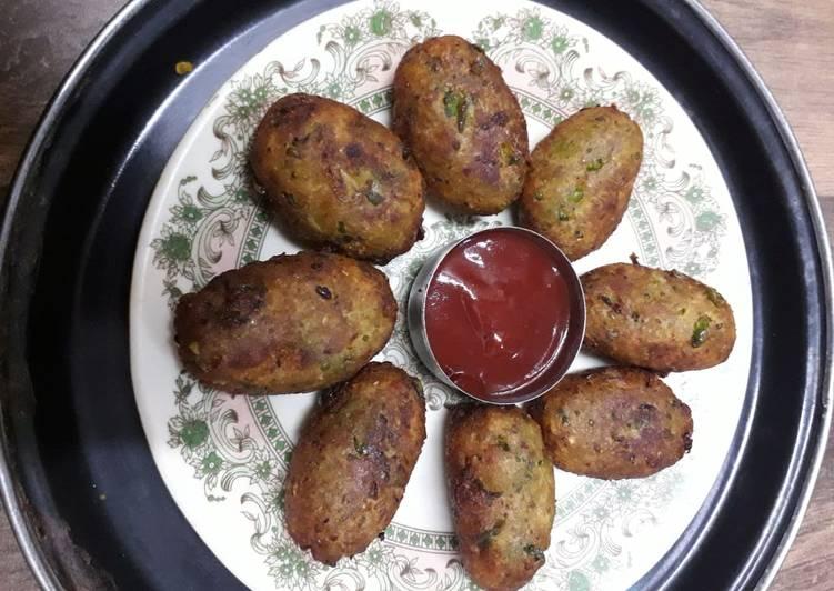 Recipe: Tasty Vegetables cutlets
