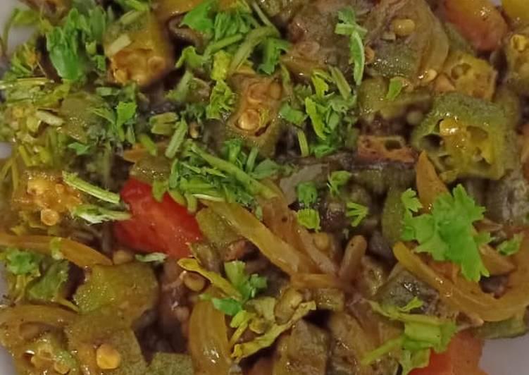 25 Minute Easiest Way to Prepare Blends Bhindi do pyaza