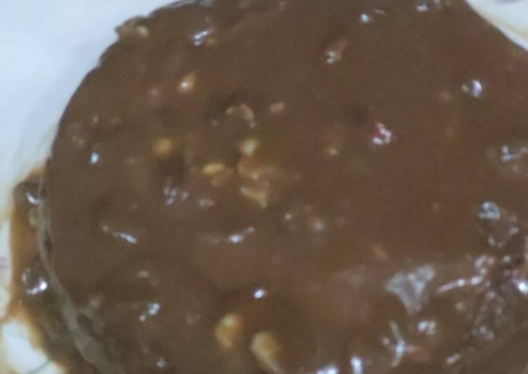 Mocha (coffee cake) microwave