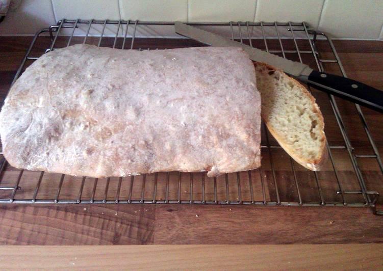 Steps to Make Favorite Ciabatta Bread