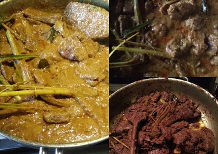 Rendang Sapi (Caramelized Beef Kari) Padang