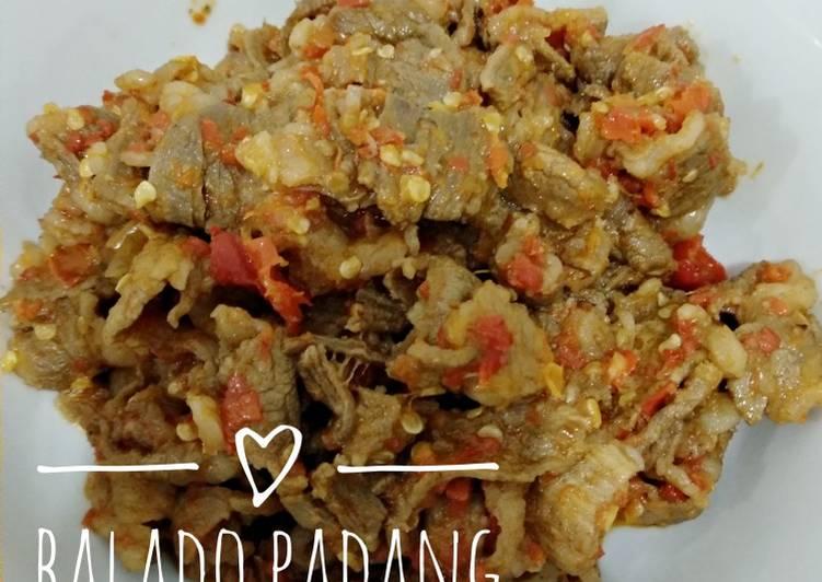 Balado Padang Daging Slice
