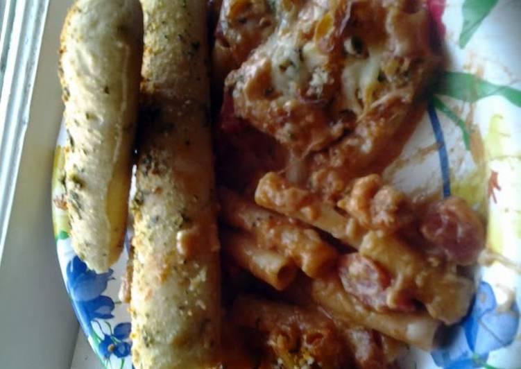 Olive Garden 5 Cheese Ziti Al Forno.