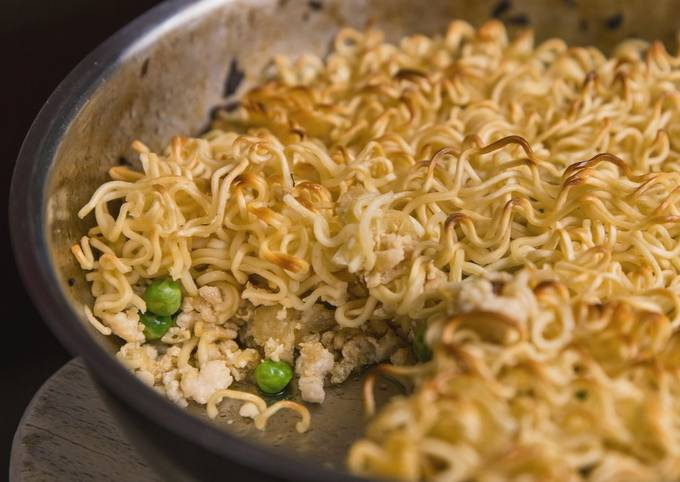 Steps to Prepare Ultimate Chicken Ramen Noodle Casserole Recipe