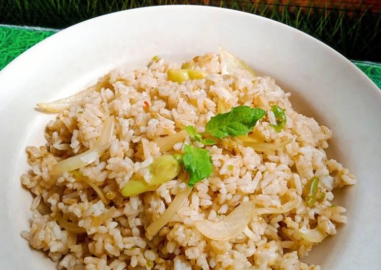 Nasi Goreng Kampung hijau rawit