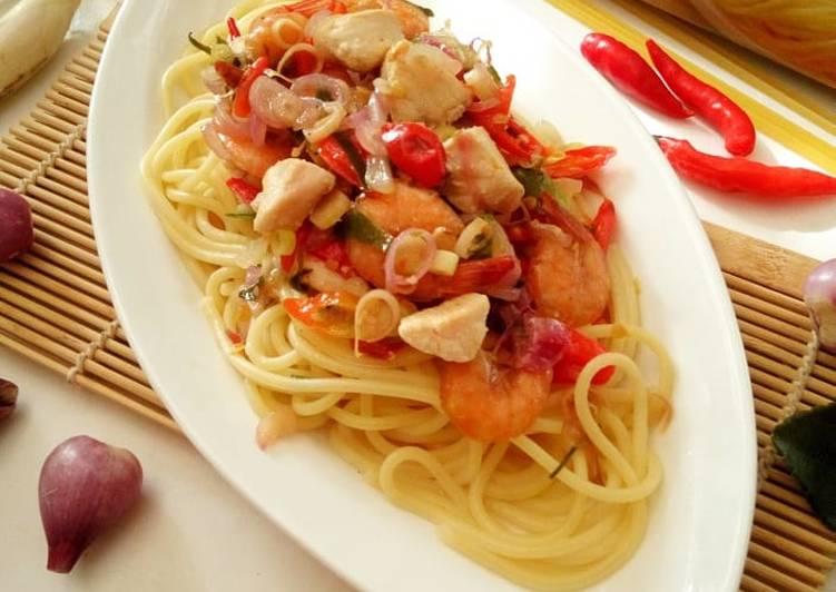 Spaghetti Sambal Matah
