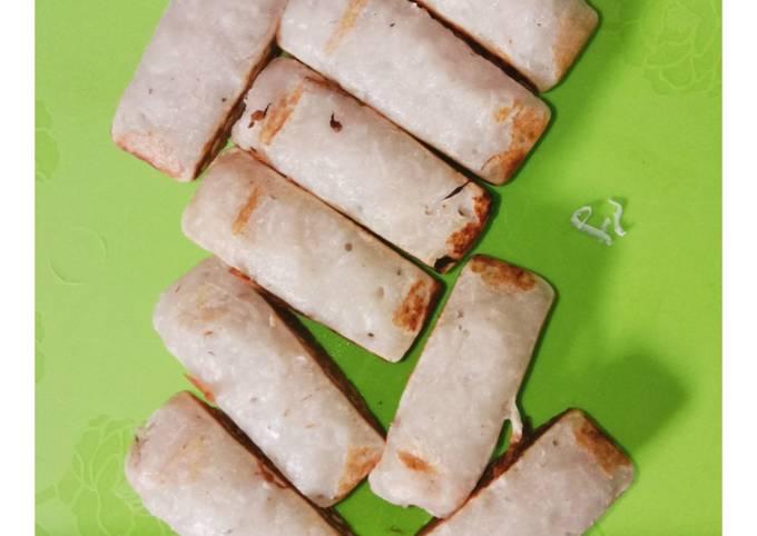 Resep Kue pancong Kelapa tepung beras Anti Gagal