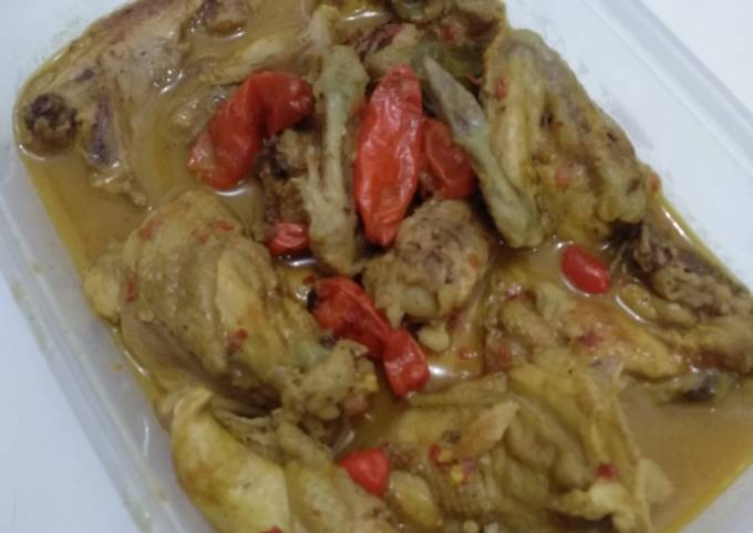Bagaimana Membuat #1 Ayam Lodho Pedas Anti Gagal